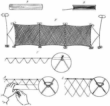 Плетение гамака из веревки своими руками: из какой плетут, сколько метров нужно, как связать из бельевой, схема, пошаговая инструкция, видео