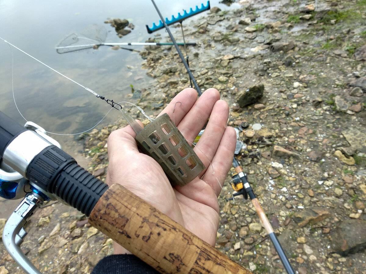 Ловля на фидер на реке, как ловить при сильном течении с лодки