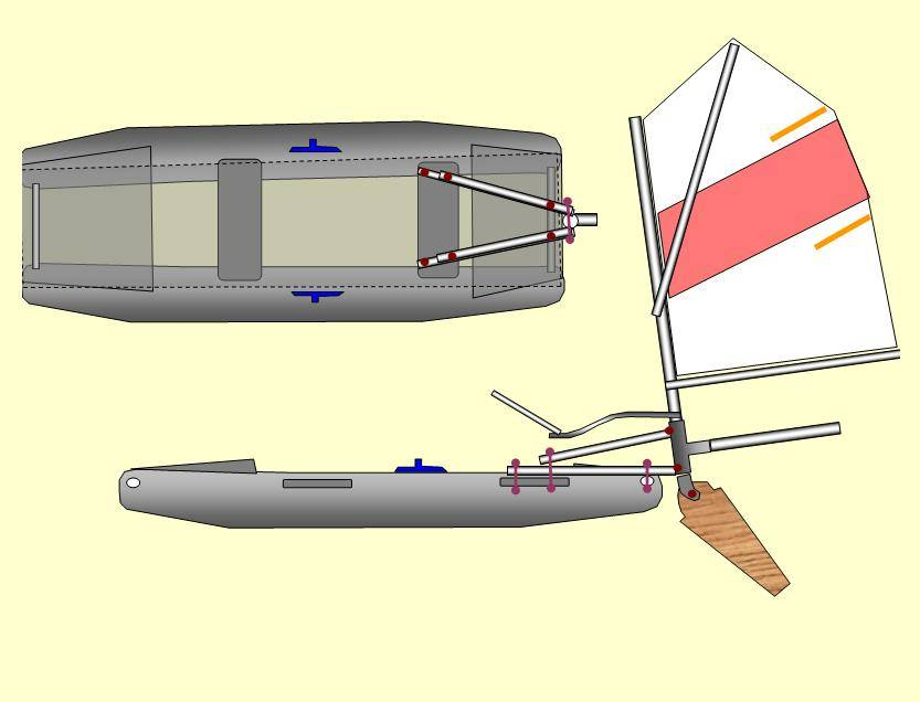 Парус на лодку пвх — viberilodku