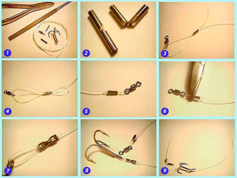 Поводок на щуку своими руками: как сделать дешевый стальной поводок