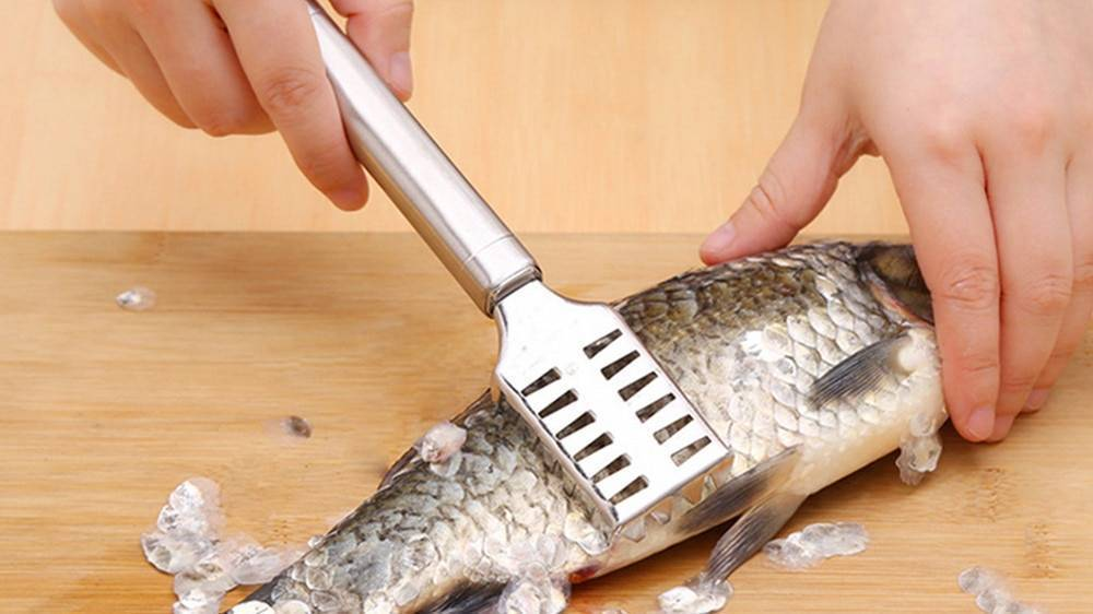 """Как почистить рыбу от чешуи правильно, легко, быстро — журнал """"рутвет"""""""