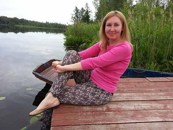 Рыбалка на озере вельё