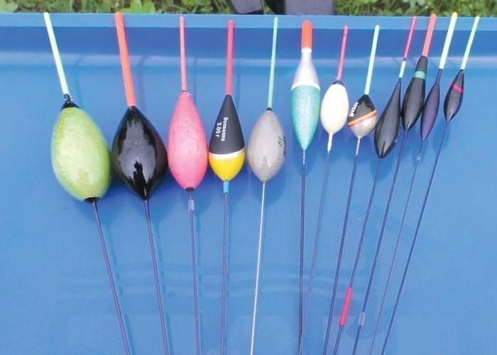 Разновидности поплавков и особенности их выбора для рыбалки с берега