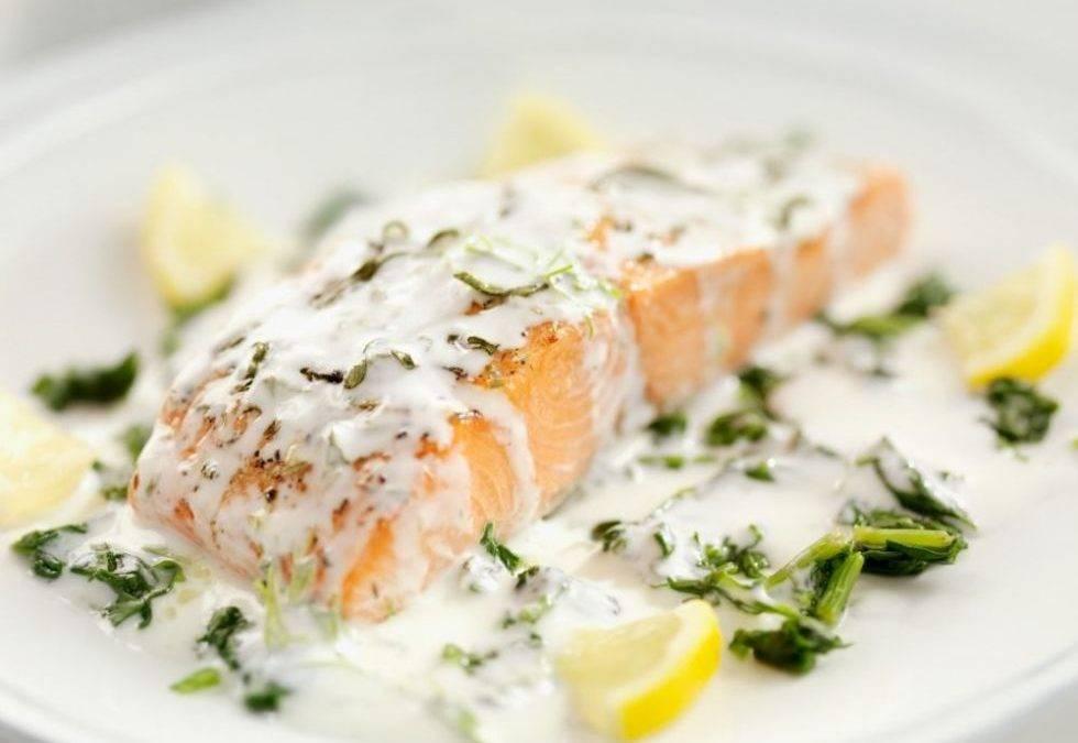 Соус для рыбы из сливок