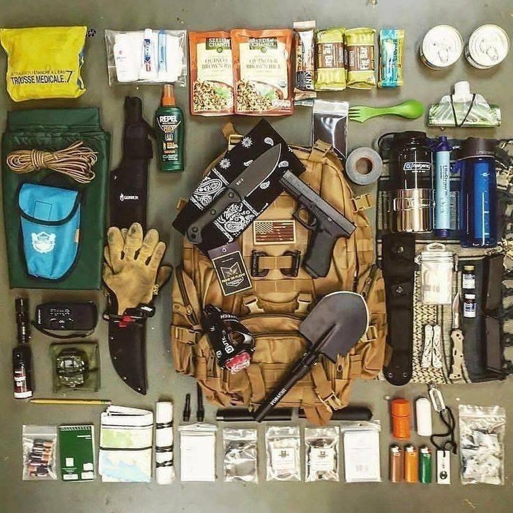 Набор для выживания в лесу — список самых необходимых вещей