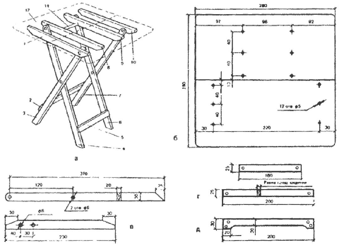 ⚒ раскладной стол своими руками: особенности конструкции и сборки