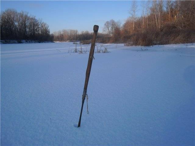 Пешня для зимней рыбалки