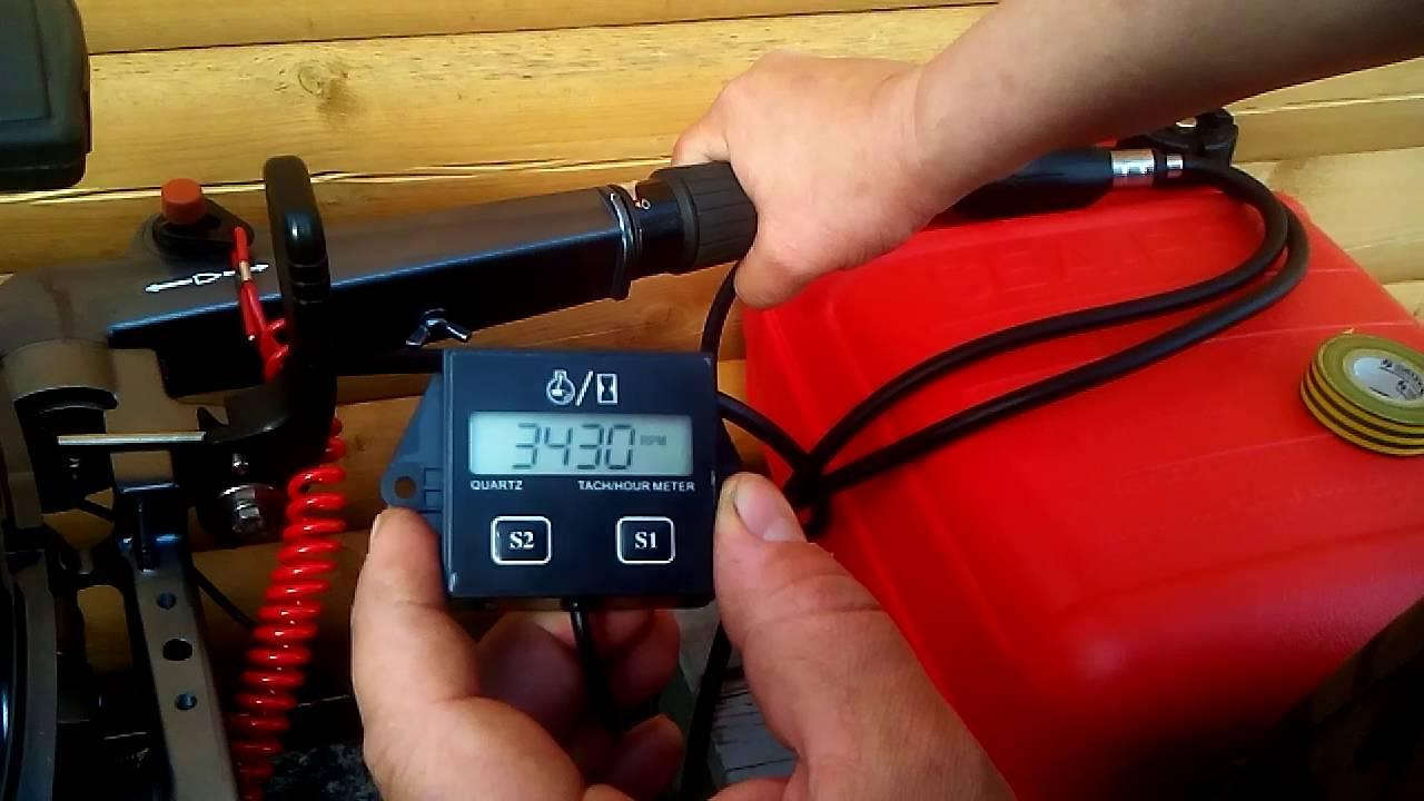 Что нужно знать о тахометре для лодочных моторов