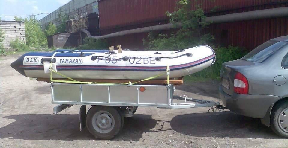 Как сделать прицеп для лодки пвх своими руками?