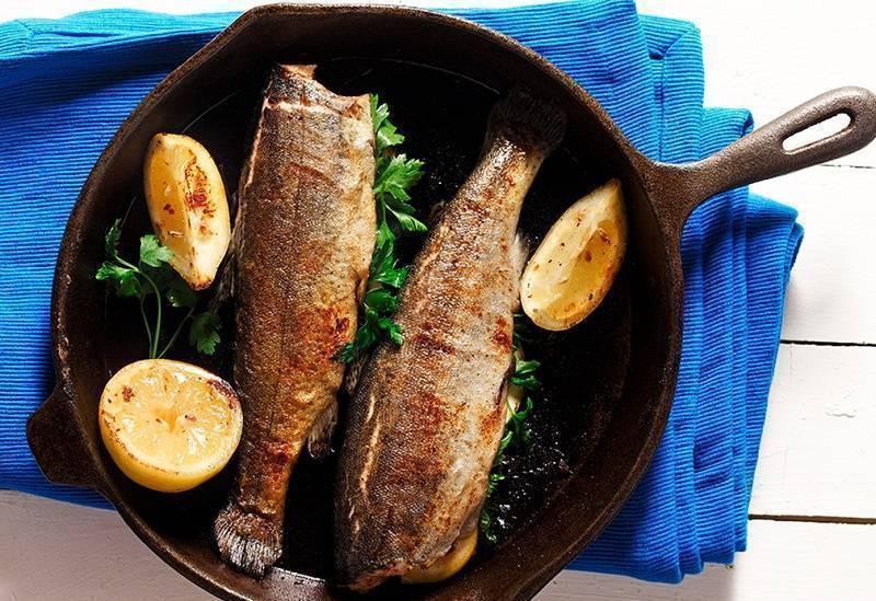 Сколько жарить рыбу на сковороде по времени: топ метод