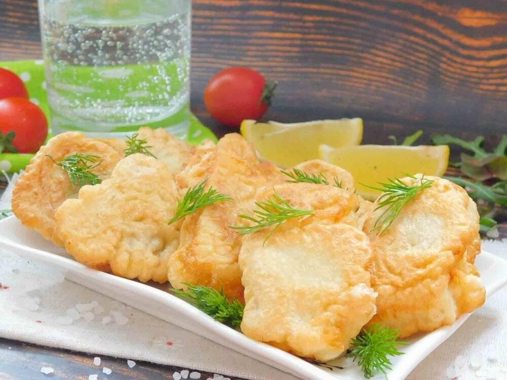 Минтай в кляре на сковородке с оладьями рецепт с фото пошагово - 1000.menu