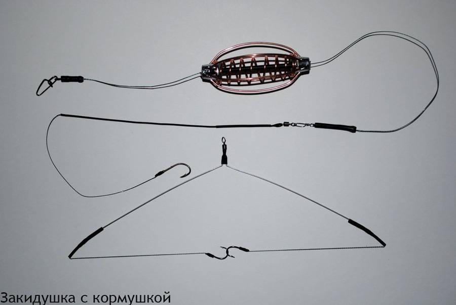 Фидергам в фидерном монтаже - применение, узлы и оснастка
