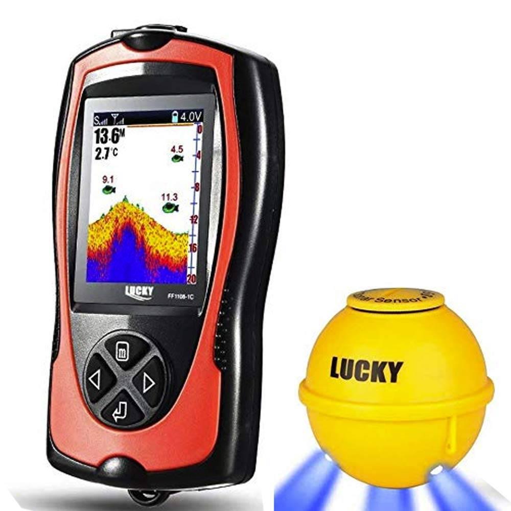 Lucky ffw718, ffw1108, ff518, ff918 android application xfishfinder - home