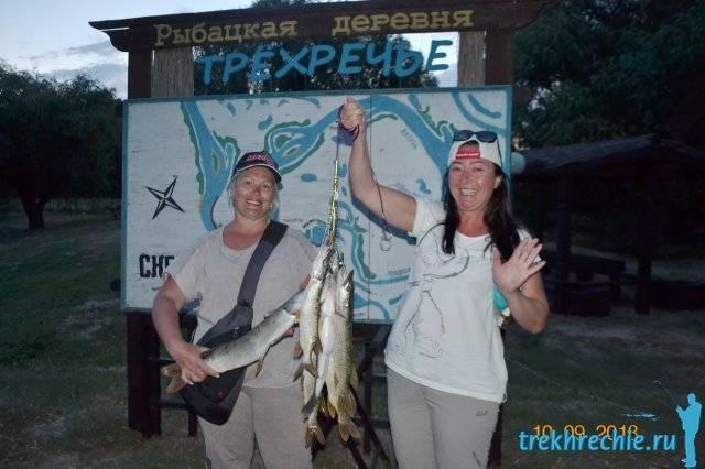 На рыбалку в трехречье за осенним судаком