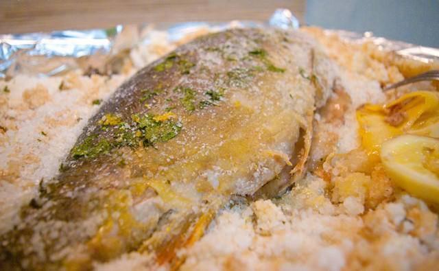 Рыба в солевом панцире рецепт с фото