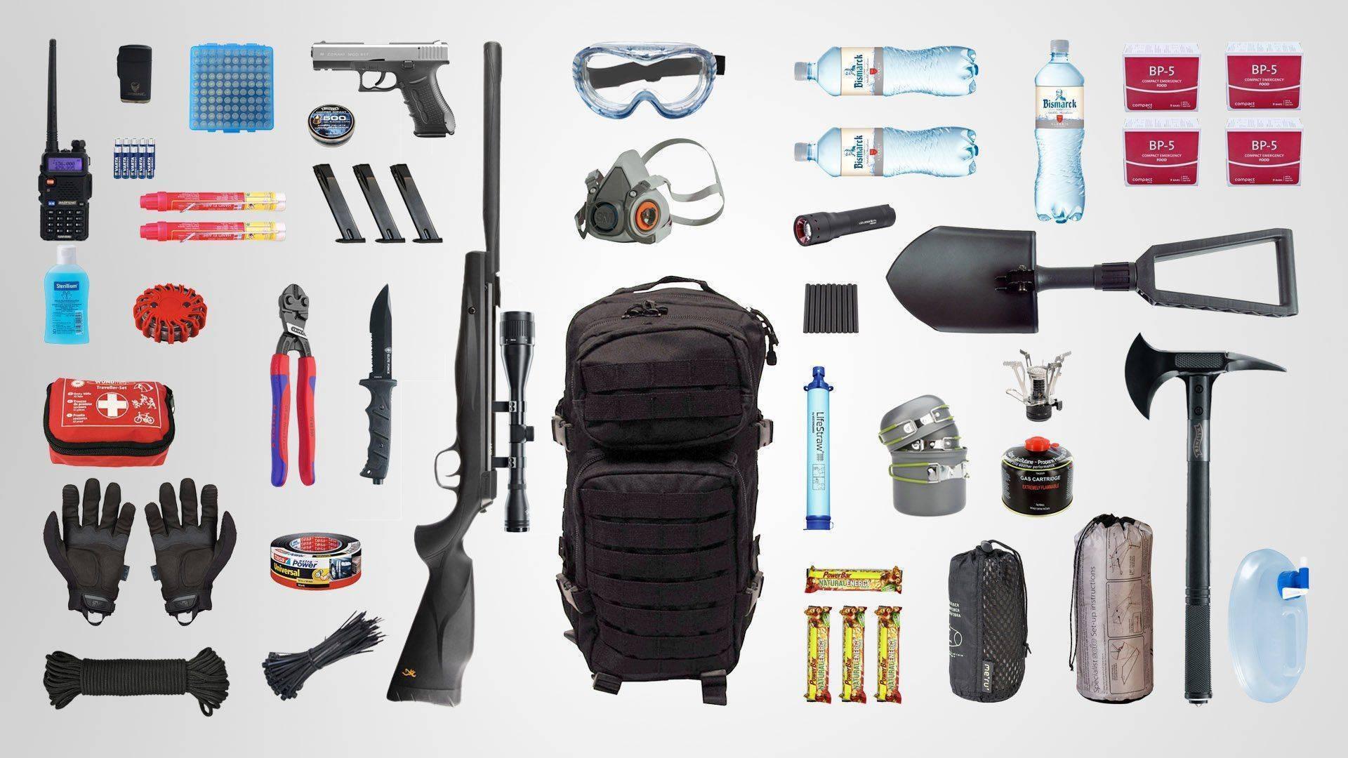Необходимые и полезные вещи для выживания в экстремальных условиях