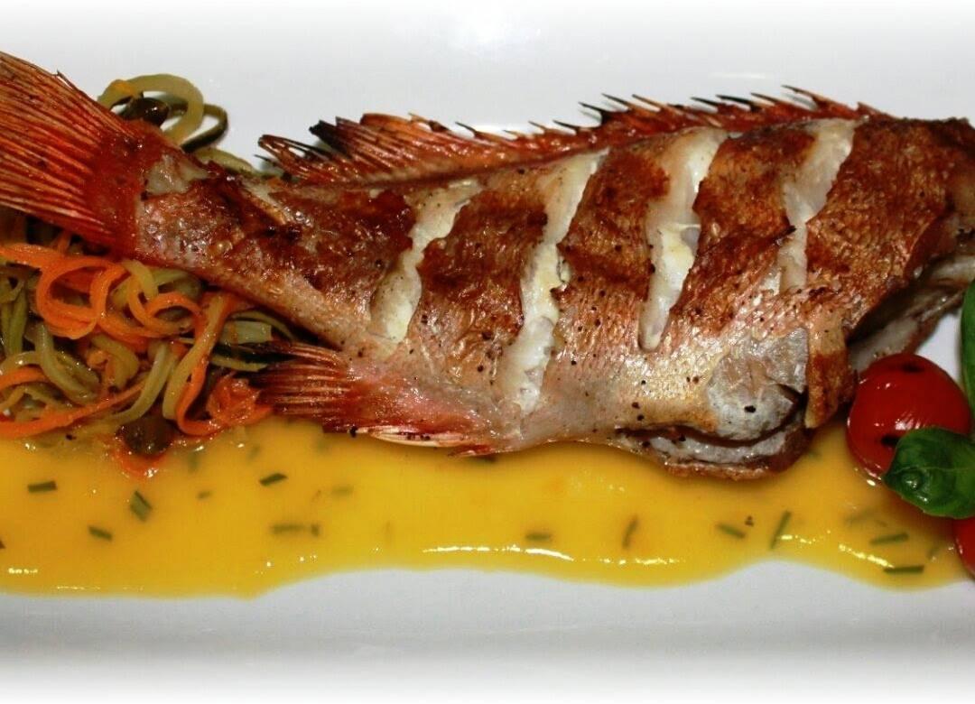 Морской окунь: лучшие рецепты приготовления рыбы в духовке и не только