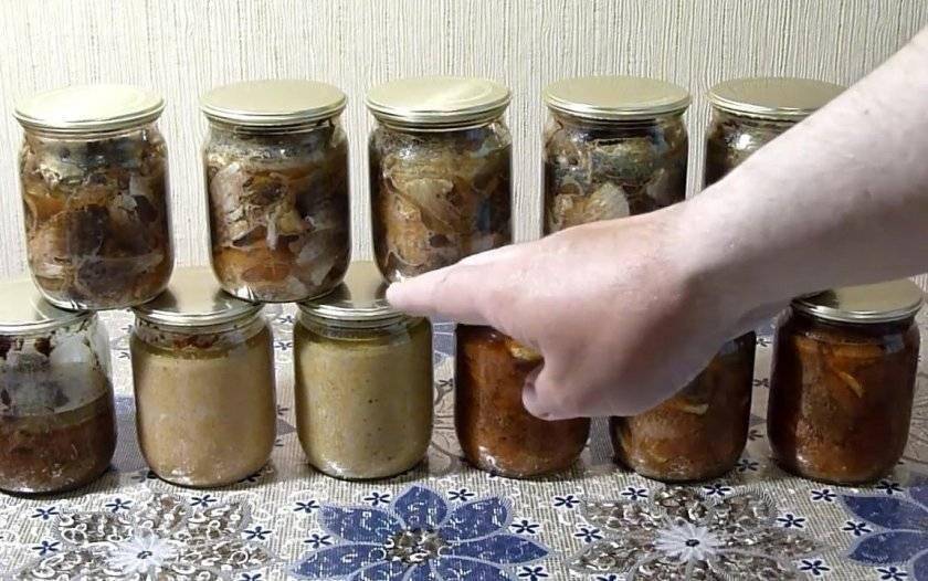 Консервы из карася в домашних условиях: рецепты с фото - truehunter.ru