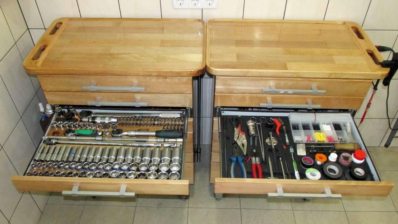 Как сделать ящик для инструментов своими руками: схемы, чертежи, фото
