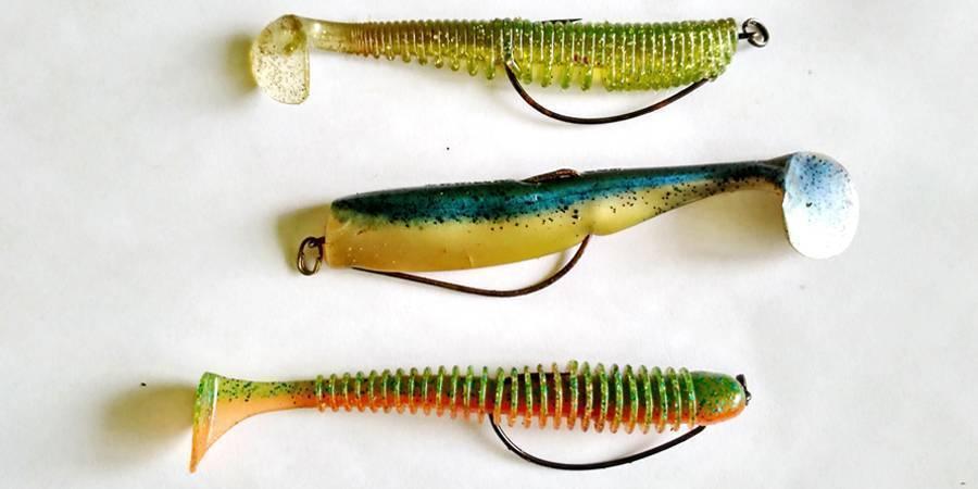 Ловля щуки на неогруженную резину: как выбрать силикон, монтаж, техника проводки - информационный сайт для рыболовов любителей