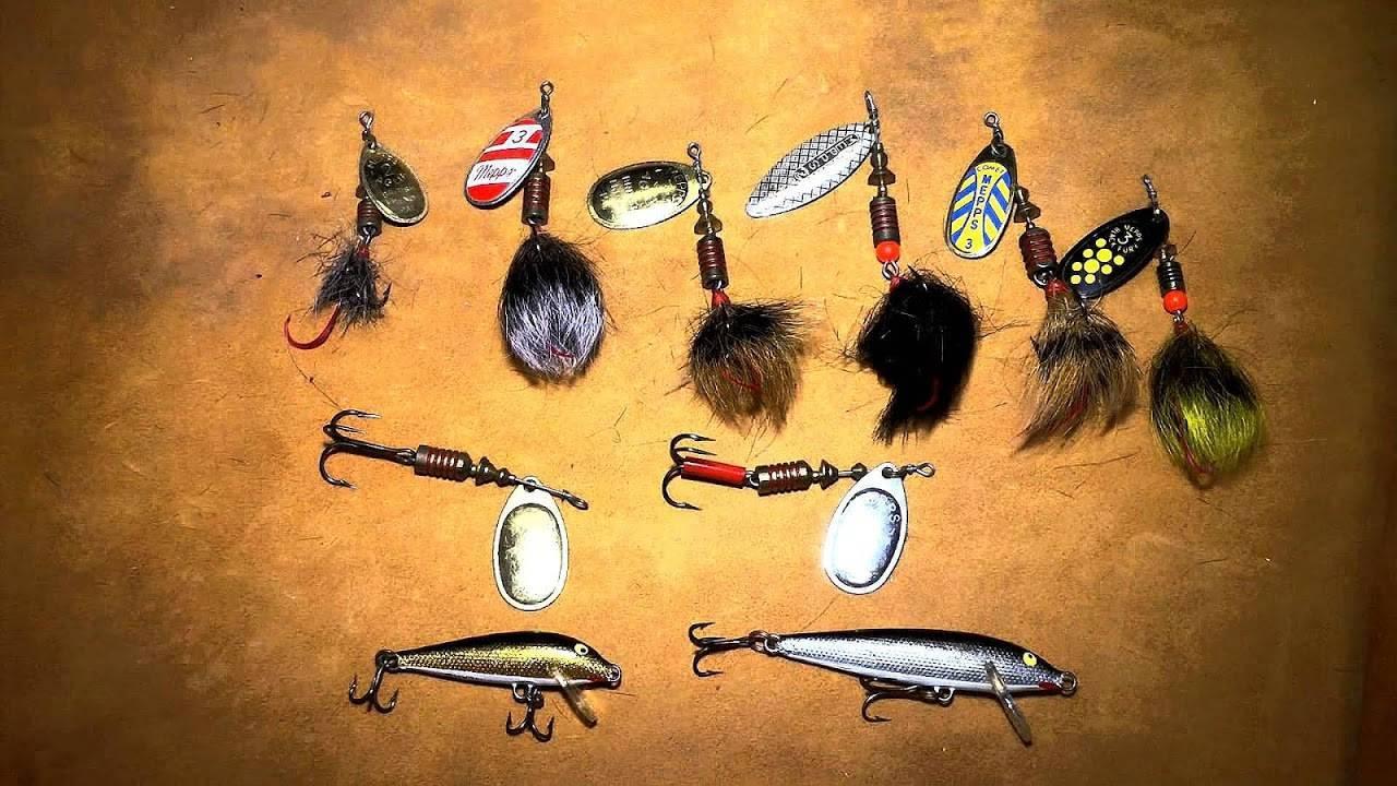 Ловля форели на спиннинг: приманки, воблеры и блесны для спиннинга на форель