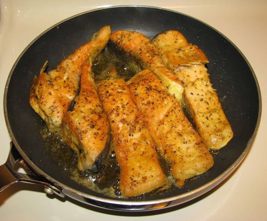 Сколько времени жарить рыбу на сковороде - женские секреты