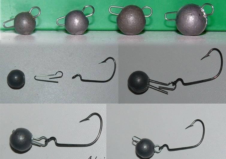 Пошаговая инструкция как собрать джиговую оснастку. популярные способы монтажа