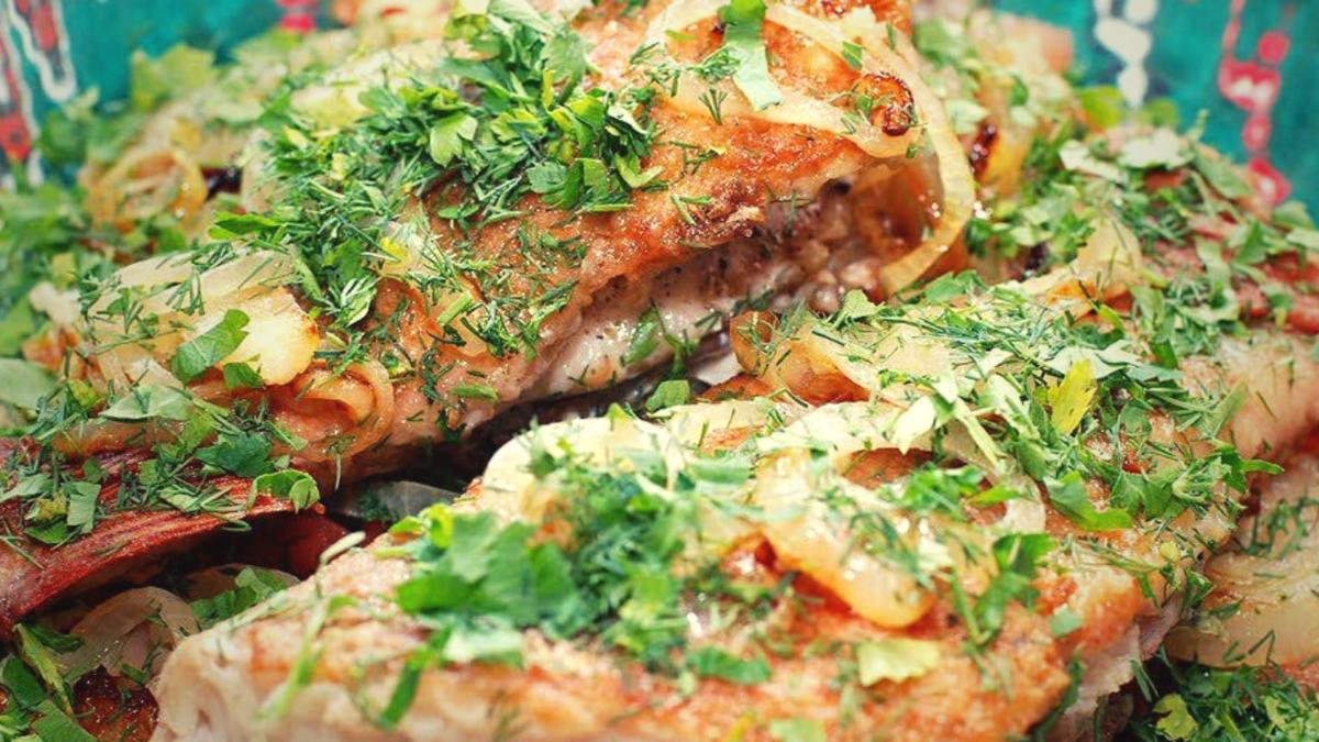 Красный морской окунь в духовке по рецептам с фото