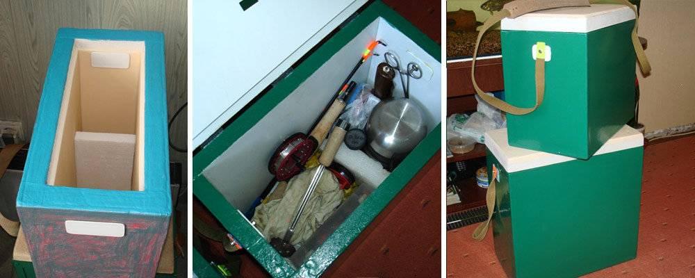 Пластиковый ящик для зимней рыбалки - самоделки для рыбалки своими руками