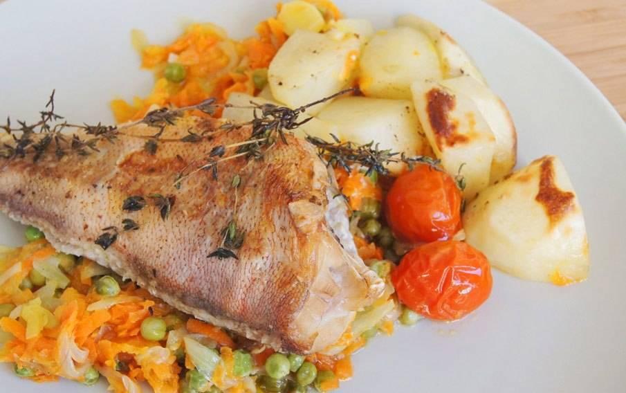 Окунь морской в духовке: вкусные и простые рецепты приготовления