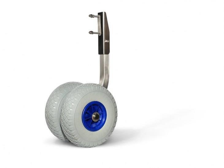 Установка транцевых колес на лодку: как правильно установить колеса на транец лодки пвх с нднд своими руками? инструкция и чертежи