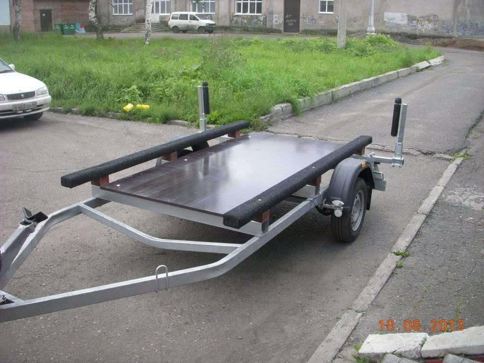 Переделка прицепа для перевозки лодки из пвх, руководство по адаптации