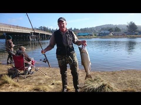 Ловля лосося в карелии