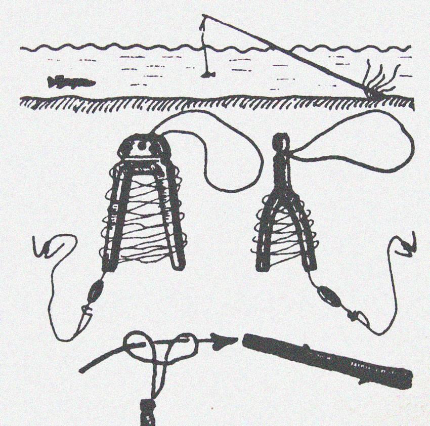Как сделать перемет для рыбалки своими руками