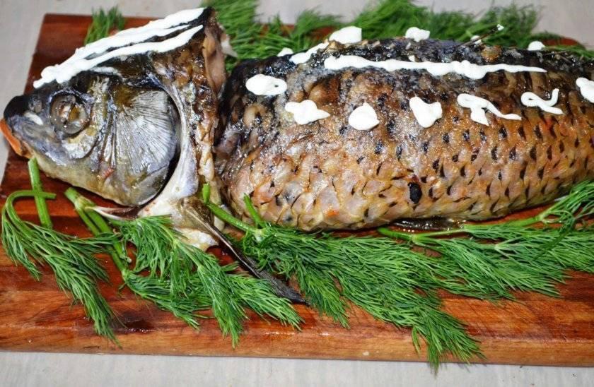 Фаршированный карп. рецепт в духовке с пошаговым фото  | народные знания от кравченко анатолия