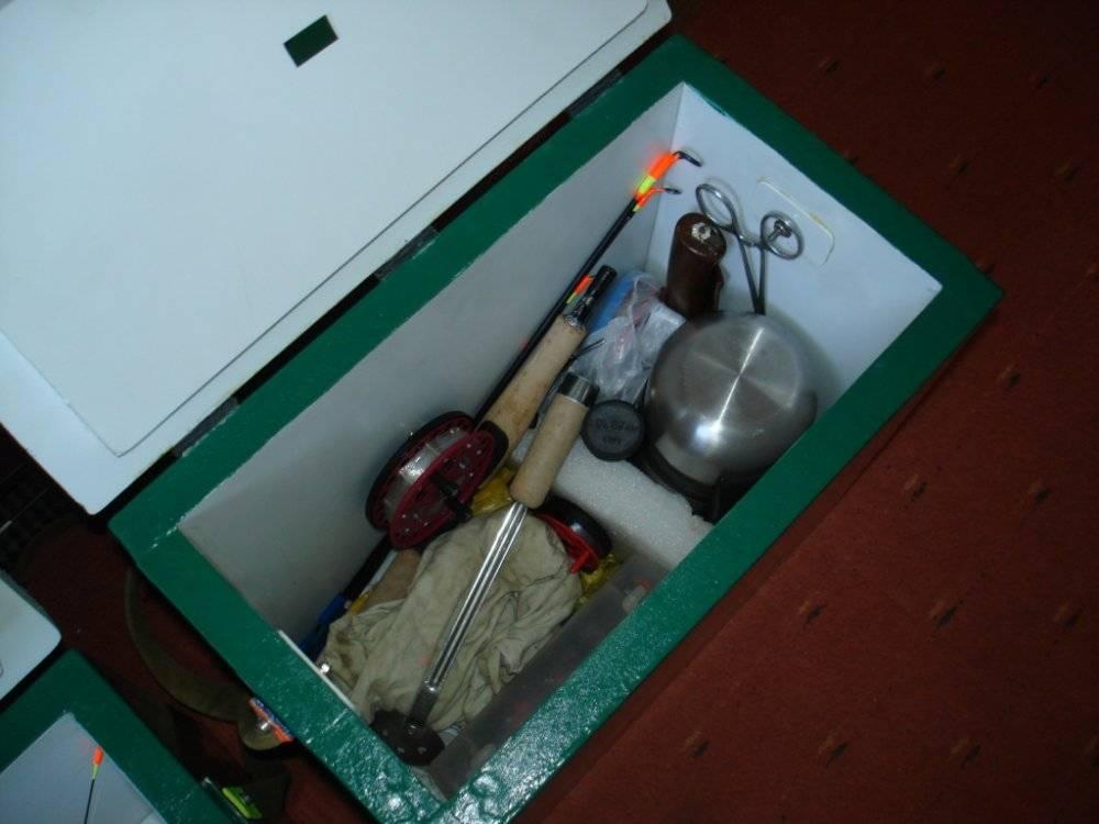Рыболовный ящик для летней рыбалки — заводской или самодельный?