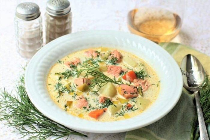 Суп из лосося (35 рецептов с фото) - рецепты с фотографиями на поварёнок.ру