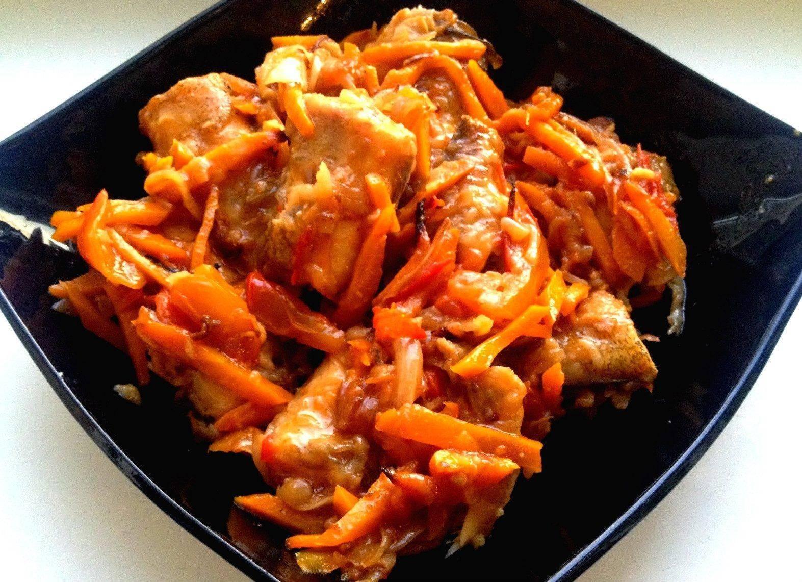 Самый простой рецепт рыбы тушеной с морковью и луком. разная рыба тушеная с морковью и луком - вкусный сюрприз для близких - автор екатерина данилова - журнал женское мнение