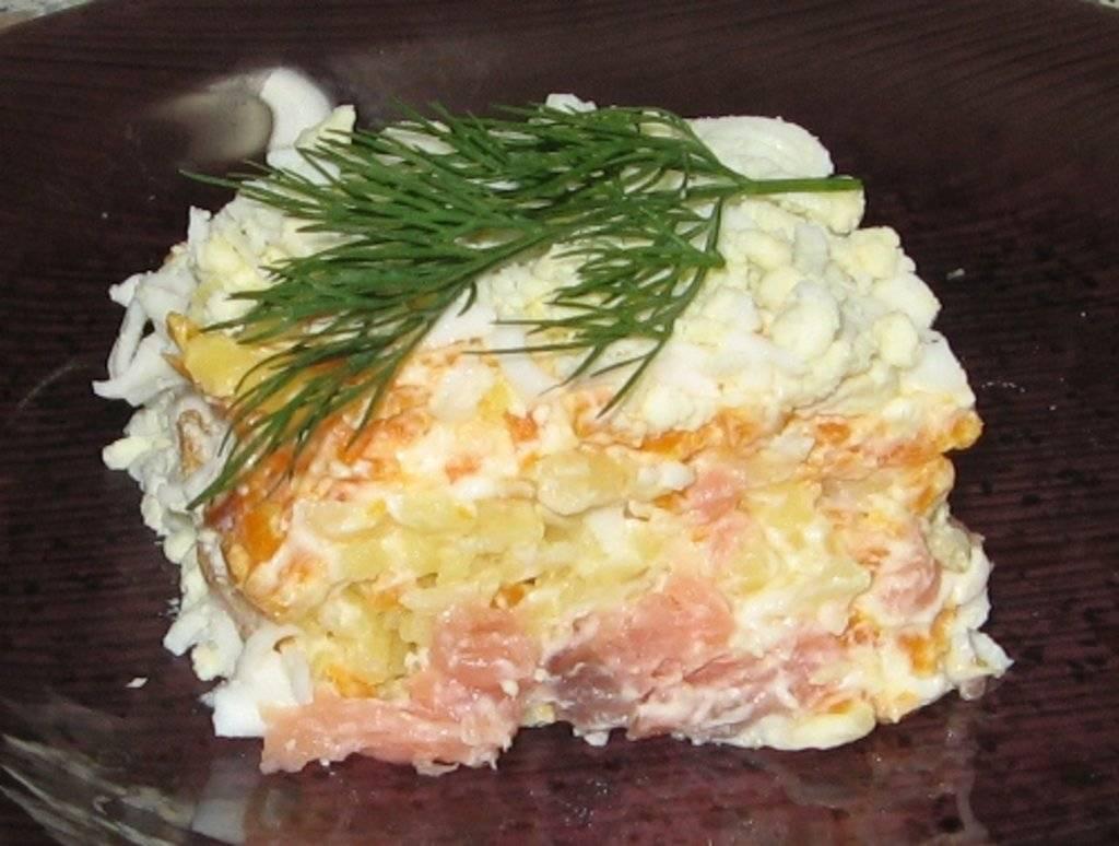 Салат с копченой рыбой – 7 вкусных рецептов приготовления