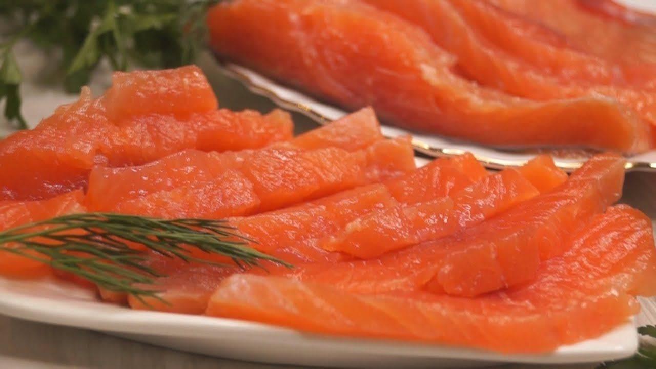 Как засолить красную рыбу в домашних условиях - 2 рецепта