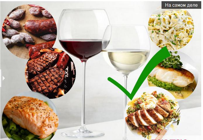 Правила выбора вина к рыбе