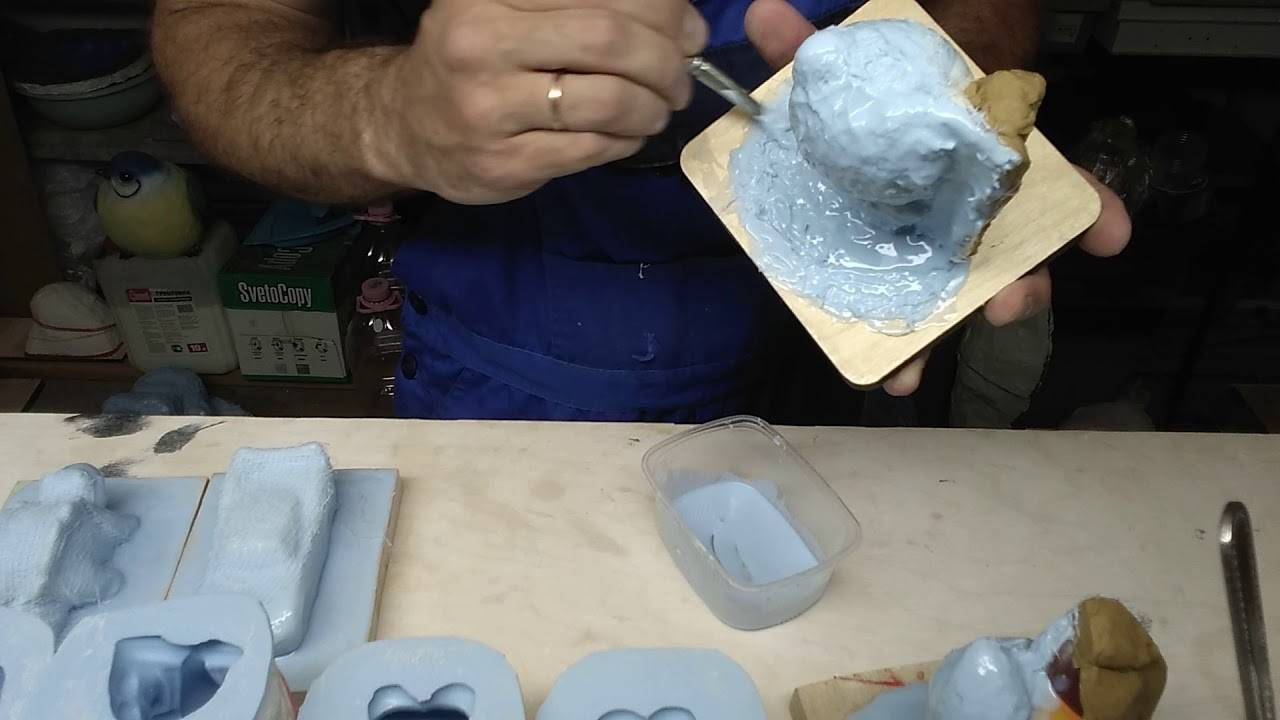 Изготовление форм для силиконовых приманок своими руками