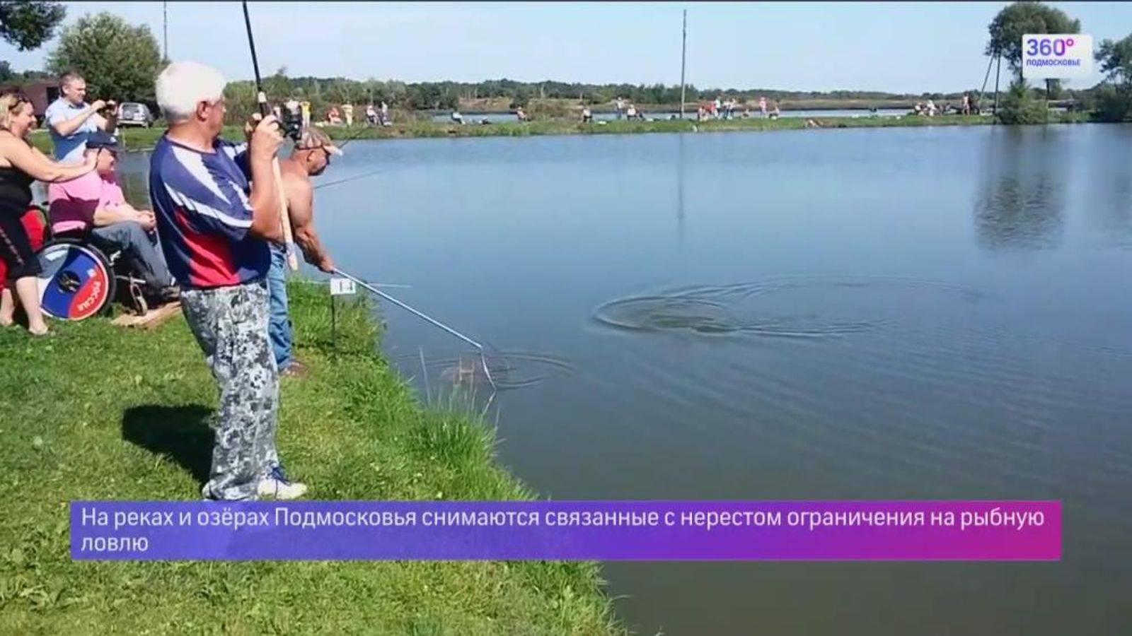 Рыбалка в подмосковье. лучшие места где можно порыбачить в московской области