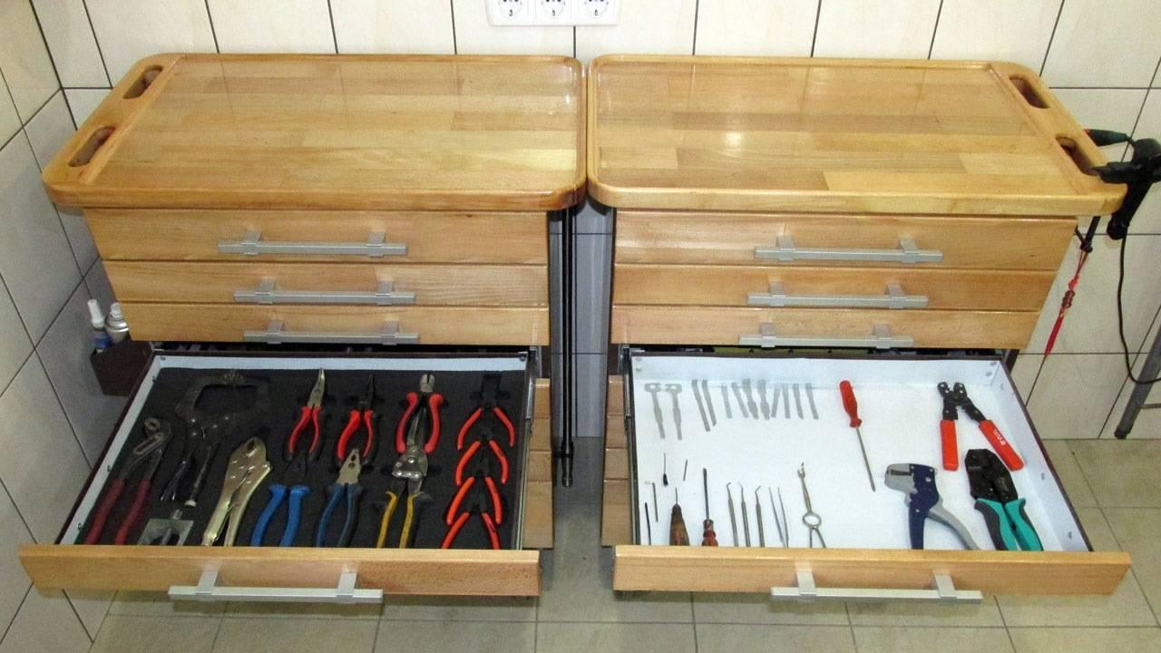 Ящик для инструментов своими руками: чертежи и схемы, пошаговая инструкция, с фото