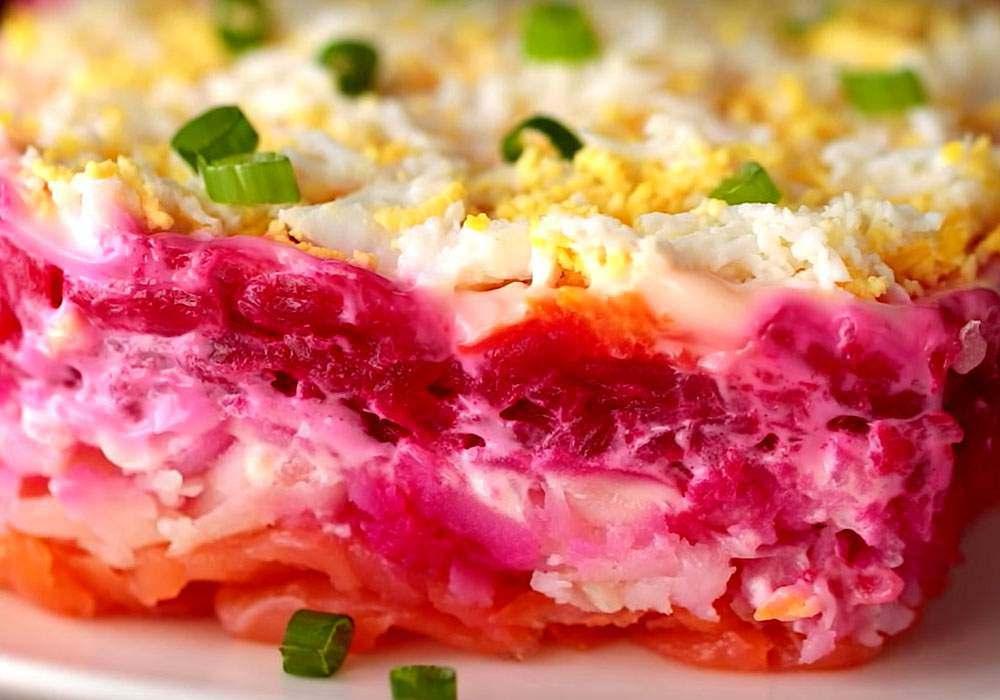Рыба под шубой в духовке запеченная рецепт с фото пошагово и видео - 1000.menu