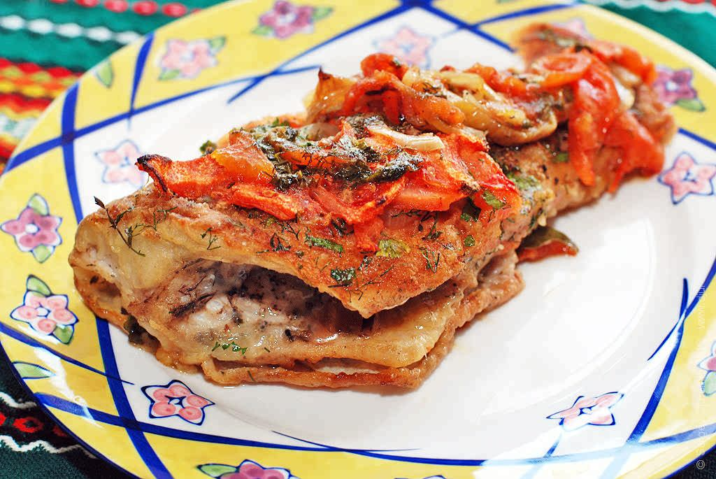 Морской окунь (красный) в духовке - 10 рецептов с фото