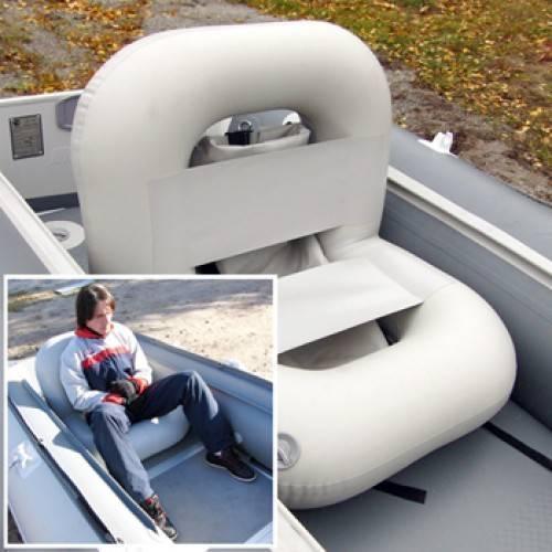 Рыбачим с комфортом, изготовив кресло в лодку пвх своими руками