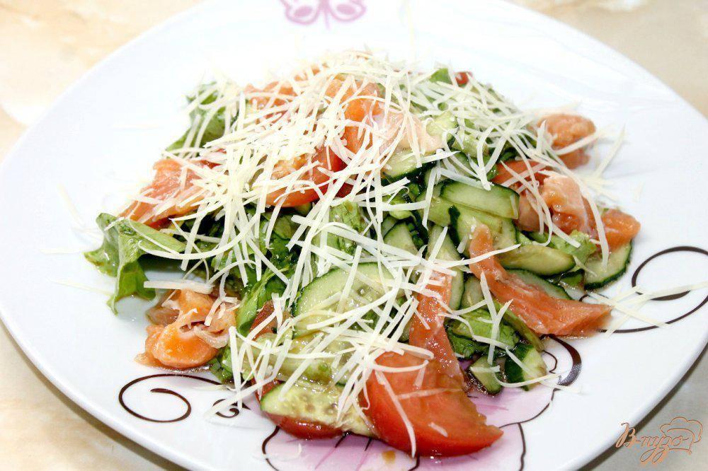 Салат с красной рыбой - самые вкусные рецепты для праздничного стола
