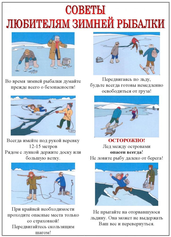 Подлёдный улов. как обезопасить себя на зимней рыбалке?   общество   аиф омск