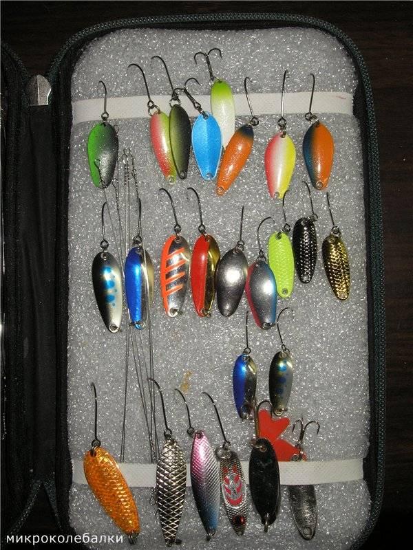 Самодельные уловистые микроколебалки - самоделки для рыбалки своими руками
